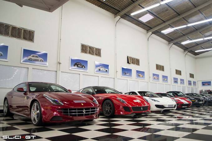 Coleção de carros de Nelson Piquet