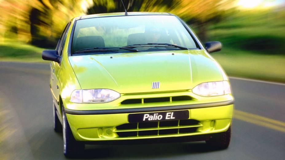 O Palio foi lançado em 1996 como sucessor do veterano Uno