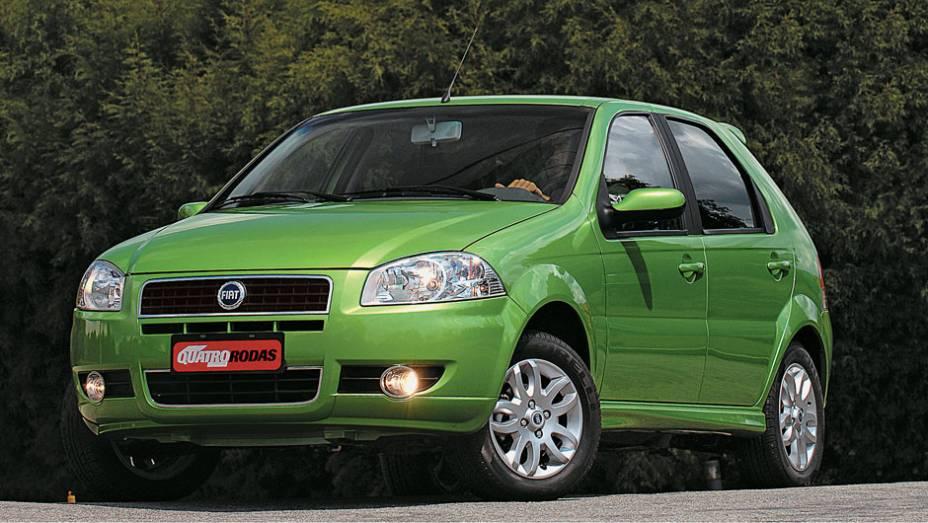 Em 2007, a Fiat lançou o Palio como modelo 2008; as mudanças, porém, não fizeram tanto sucesso