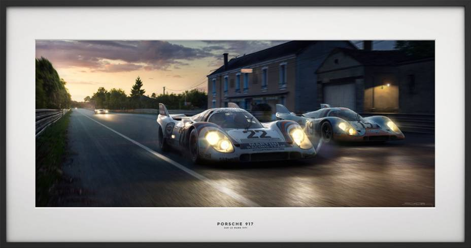 Porsche 917 Le Mans 1971