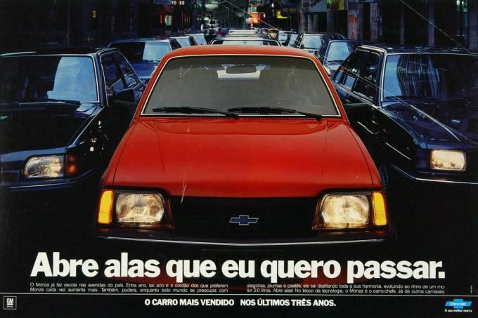 Propaganda – Chevrolet Monza