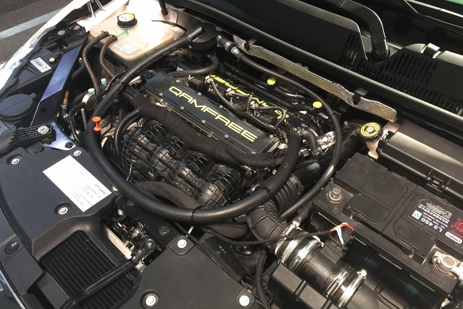 Instalado em um motor 1.6, o FreeValve aumentou a potência em 47%