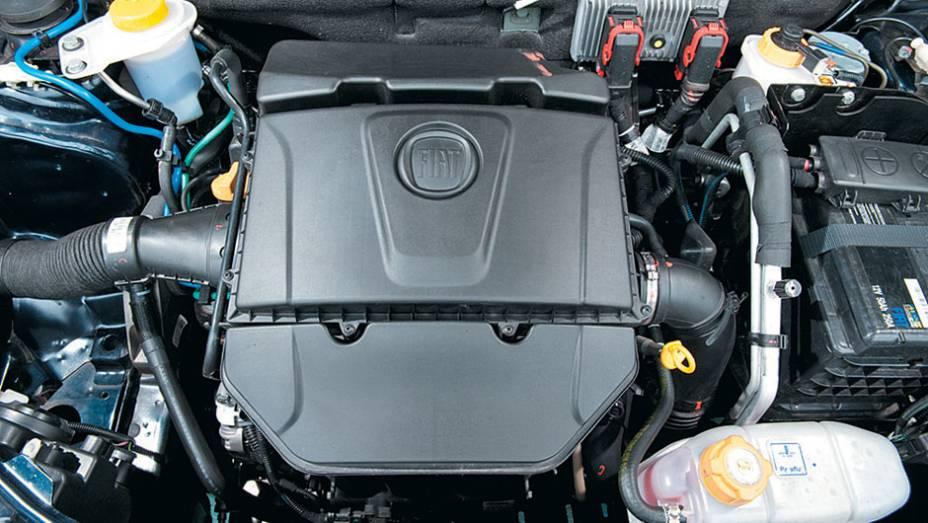O motor é o novo E.torQ de 117 cv