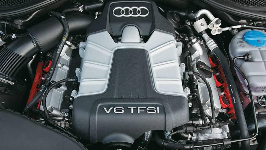 A7: motor V6 3.0 de 300 cv