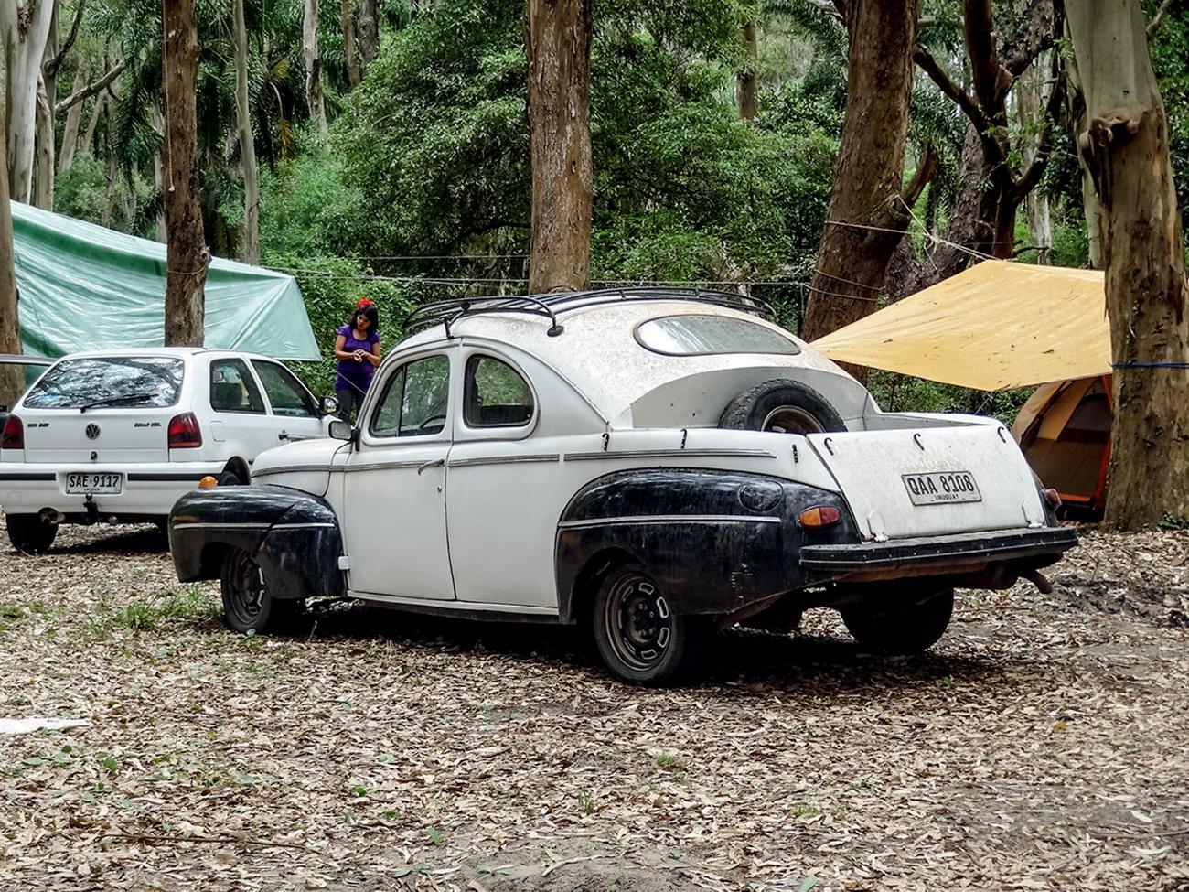 No Uruguai, o Fusca bombado ganha massa de todo tipo