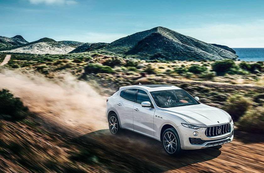 Um Maserati para você jogar na terra sem medo