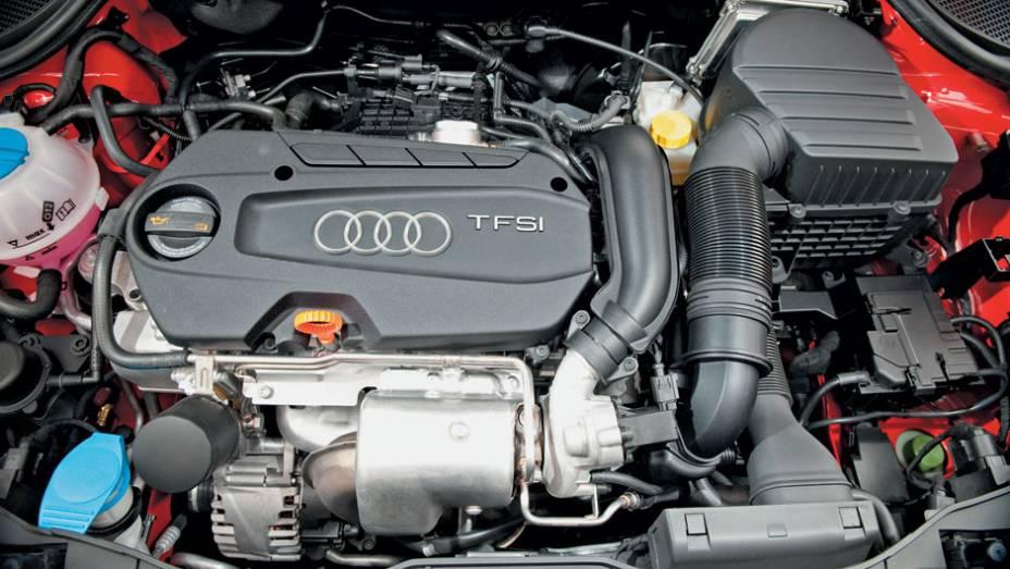 O 1.4 Turbo entrega 122 cv