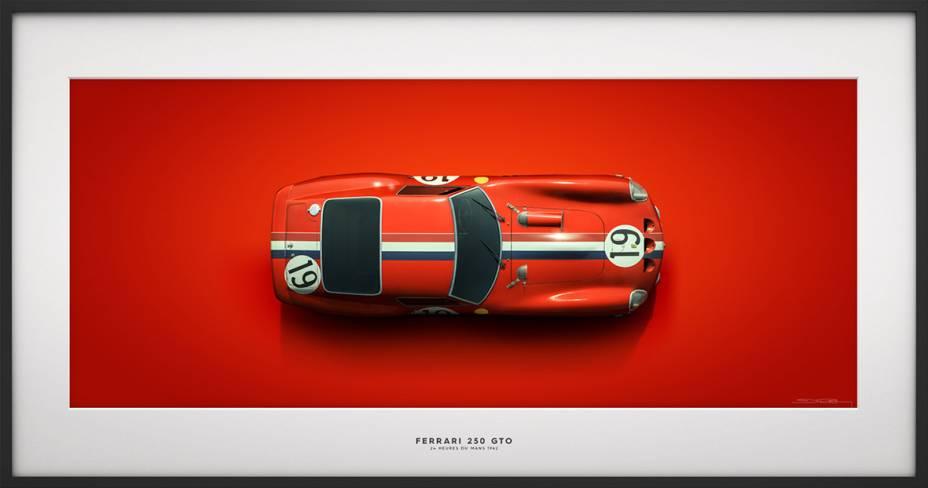 Ferrari 250 GTO - 24 heurs du Mans 1942