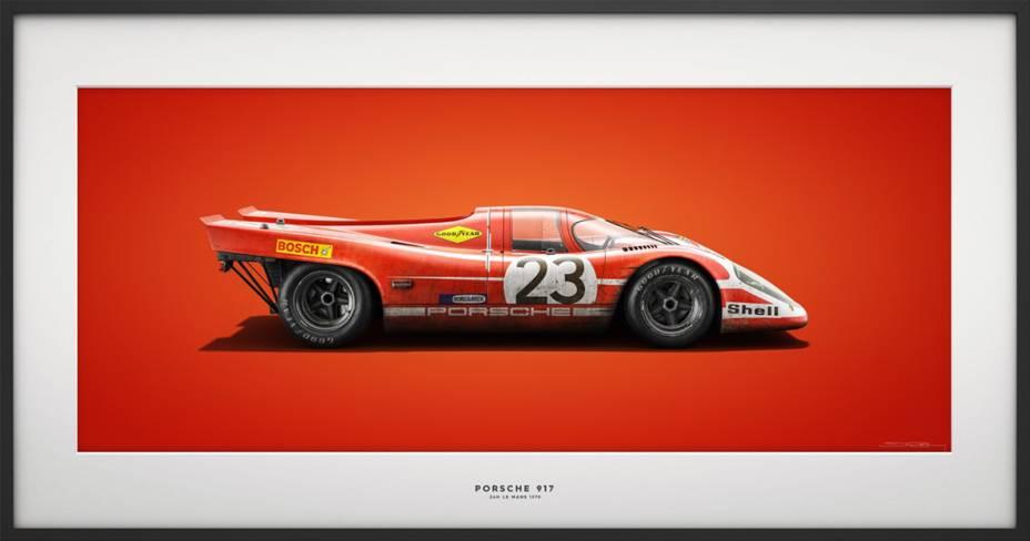 Porsche 917 - 24h Le Mans 1970