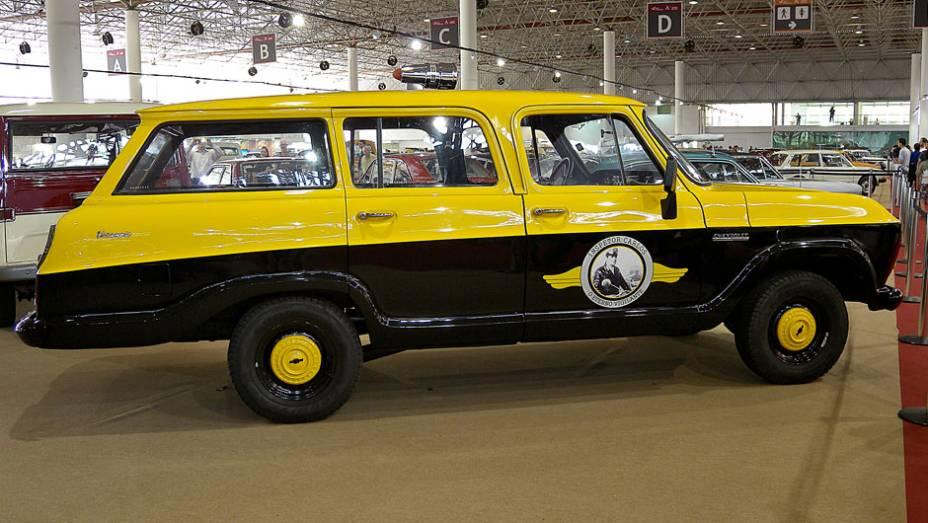 Chevrolet Veraneio do seriado Vigilante Rodoviário