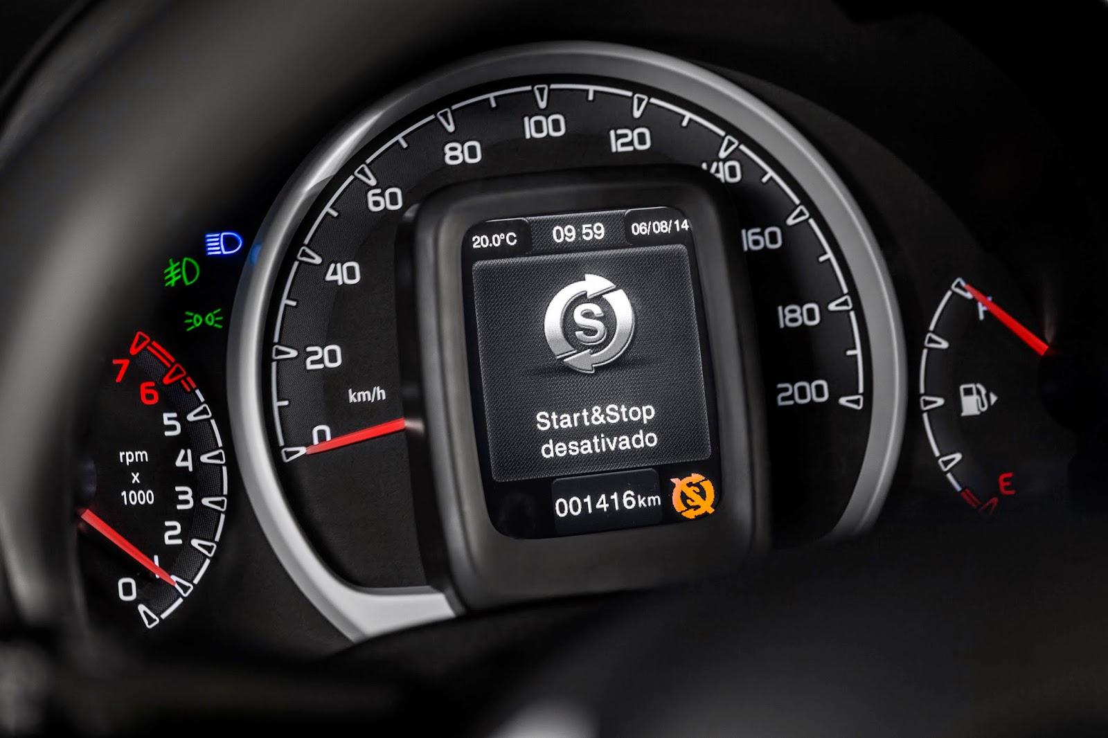 O Uno foi o primeiro modelo nacional a contar com a tecnologia start-stop