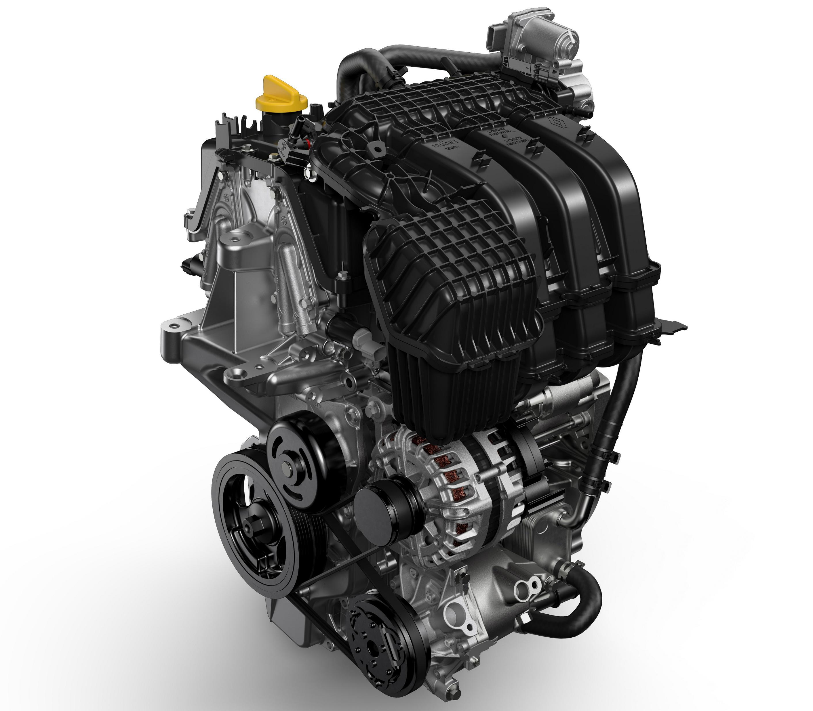 Motor 1.0 SCe de 3 cilindros