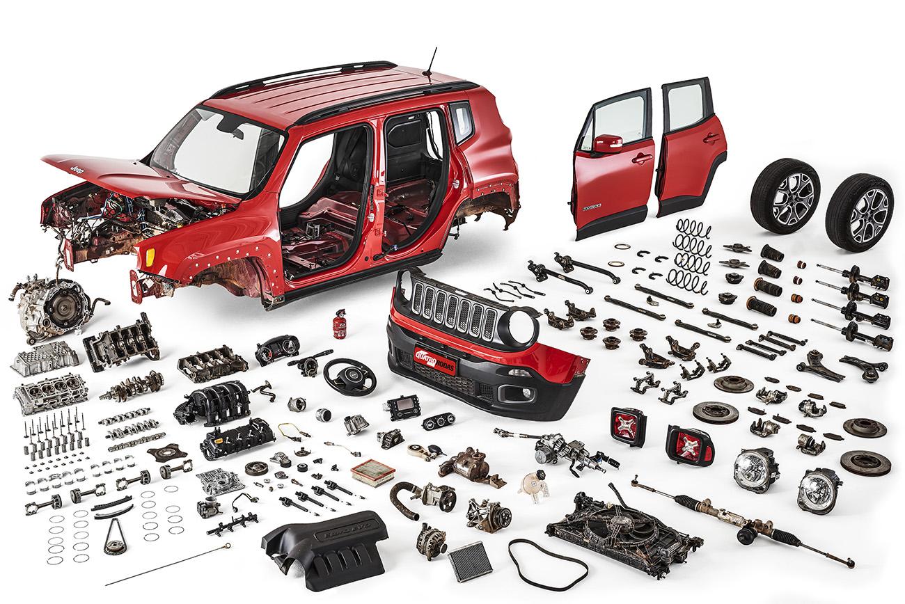Longa Duração - desmonte do Jeep Renegade