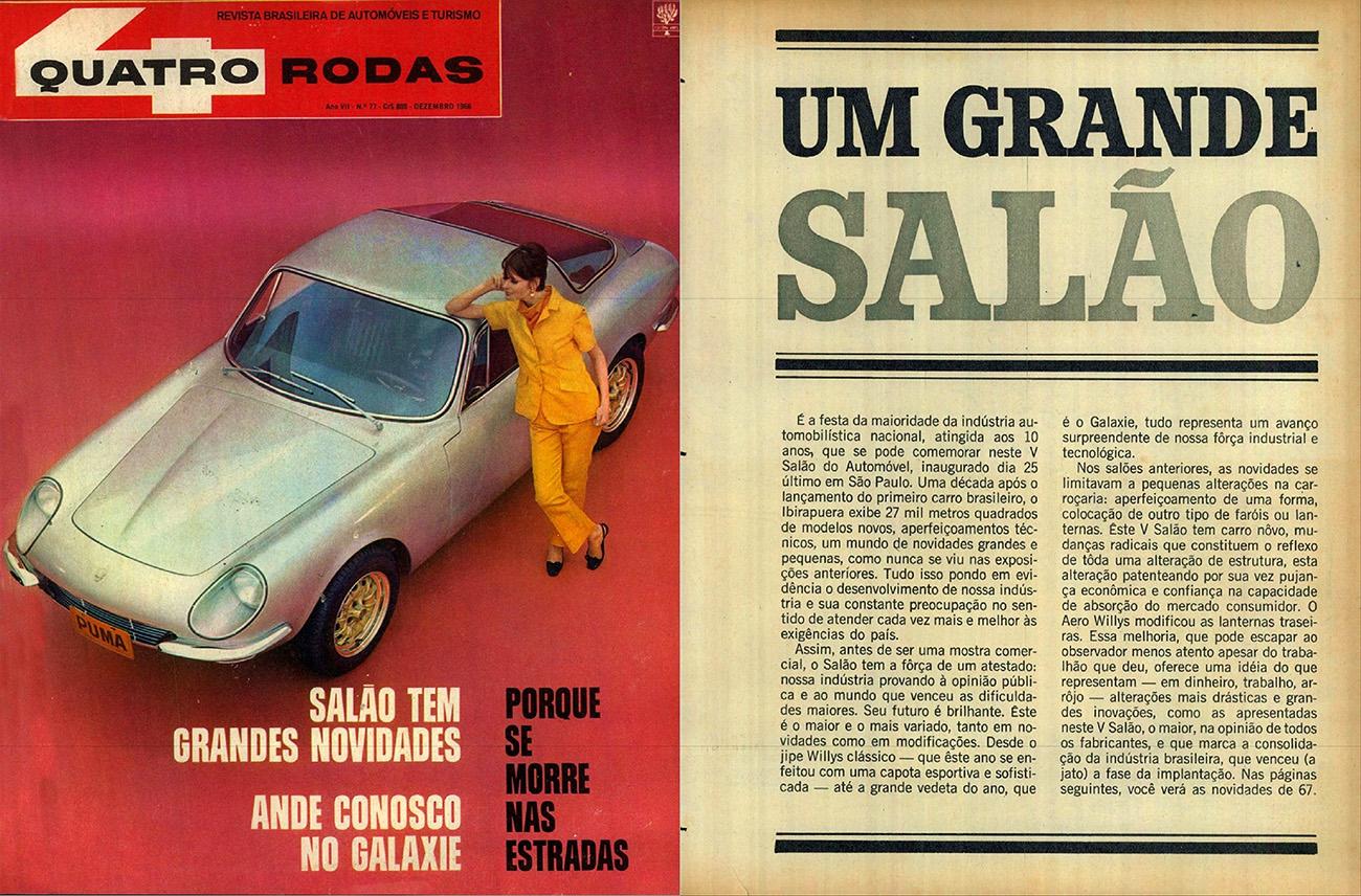 Quatro Rodas / dezembro de 1966