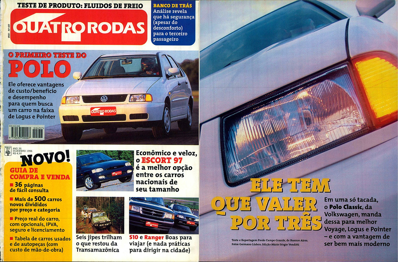 Quatro Rodas / dezembro de 1996