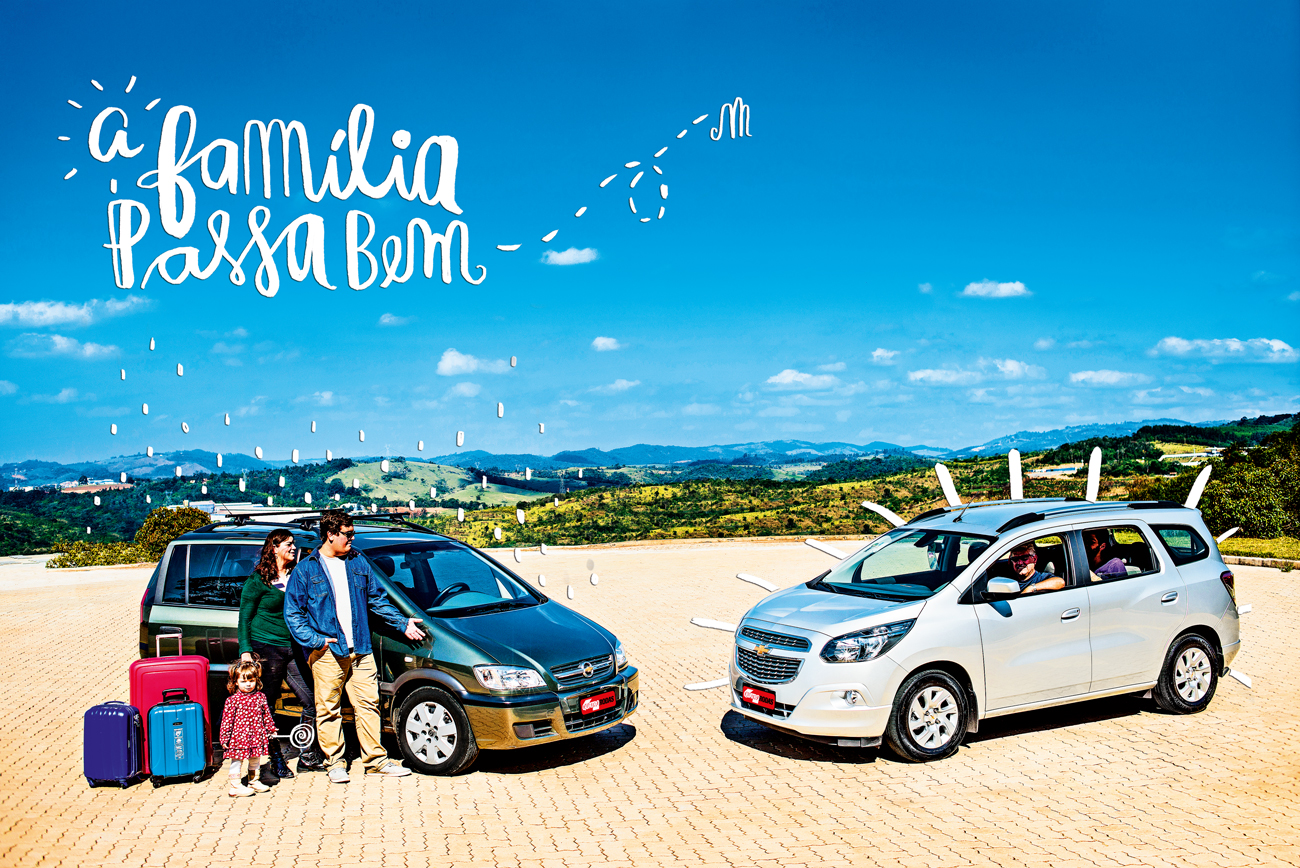 O dilema é: qual a melhor minivan com o logotipo Chevrolet?