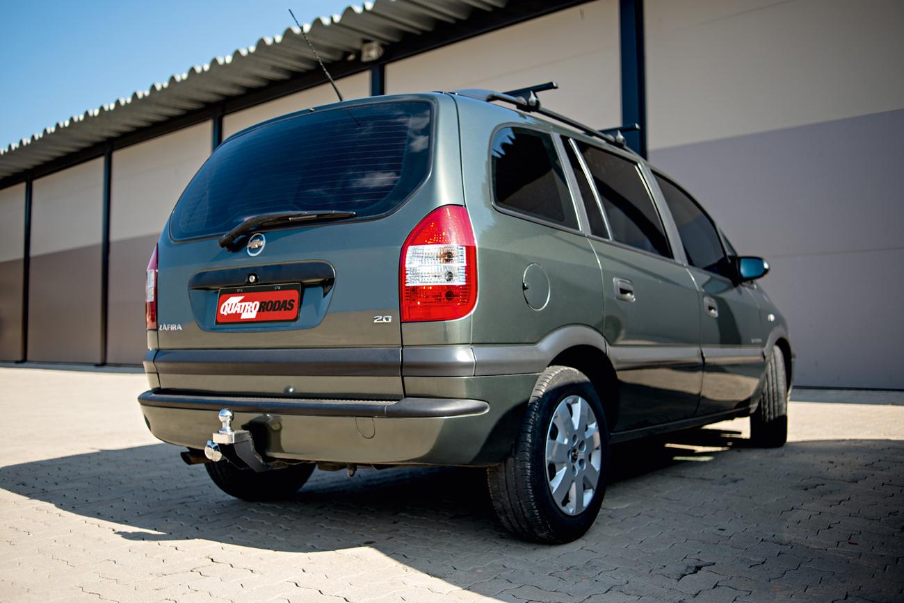 Projeto da Zafira é de origem Opel, a filial alemã da GM