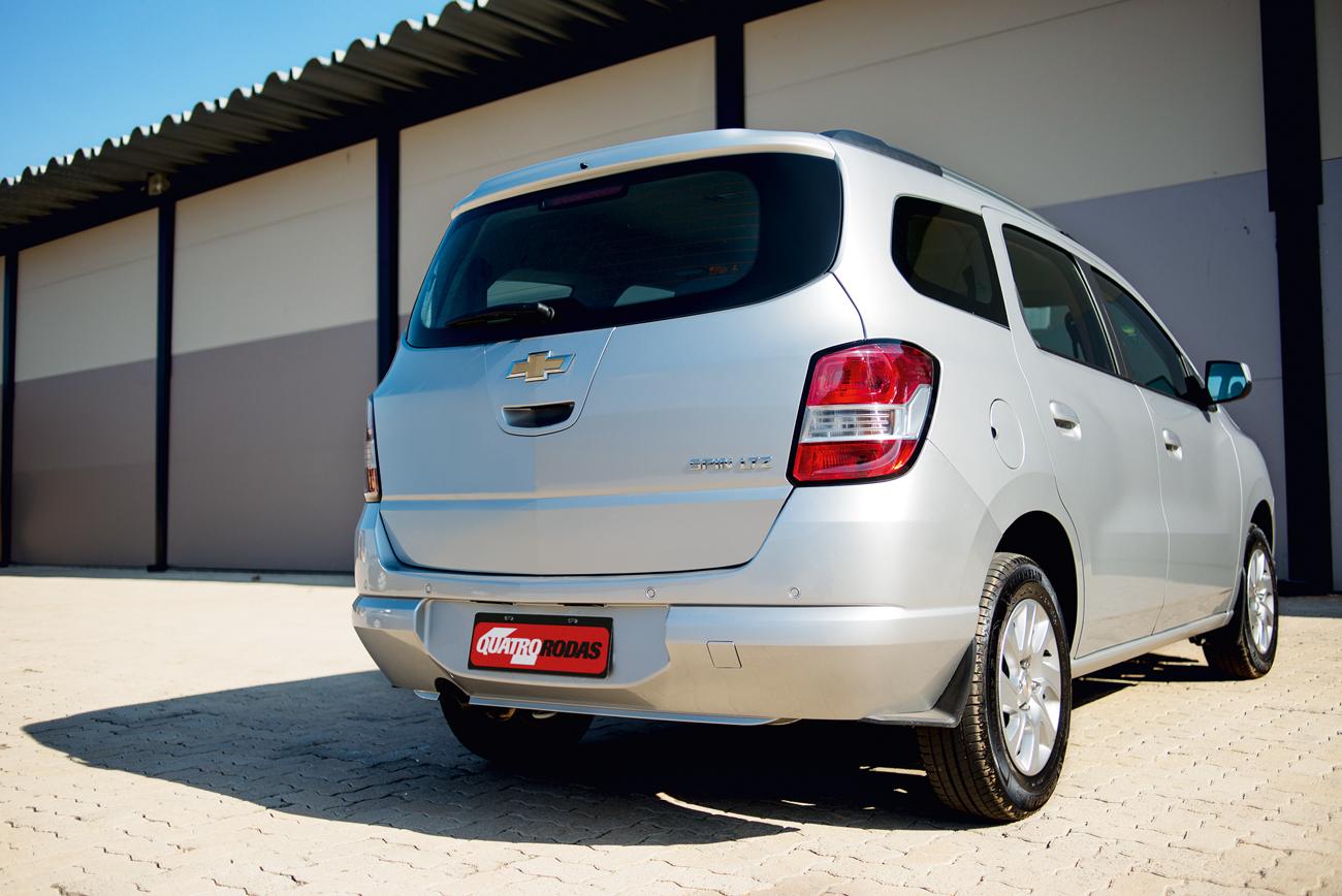 Spin foi desenvolvida no Brasil pela Chevrolet
