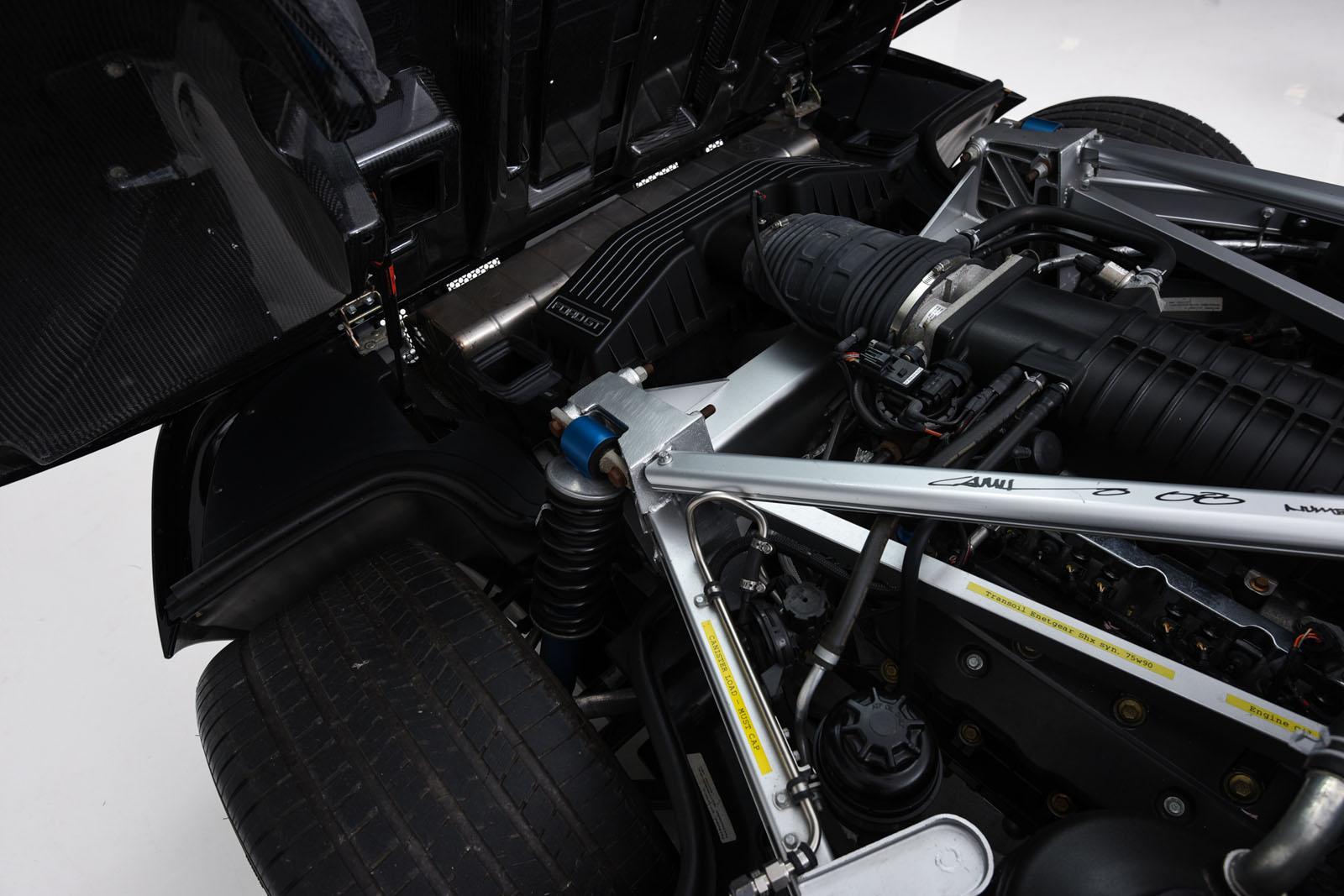 motor do Ford GT