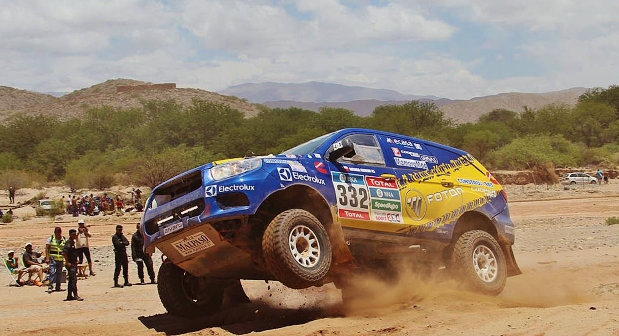 Até hoje, a Foton foi a única marca chinesa a terminar um Dakar