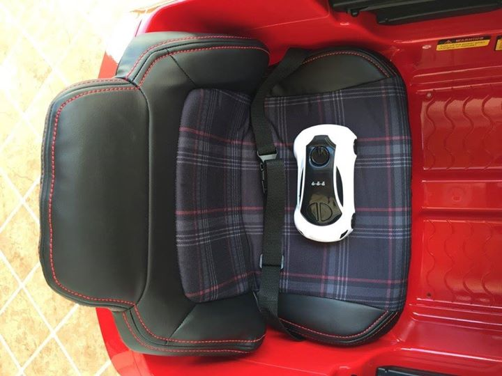 Banco Golf GTI elétrico