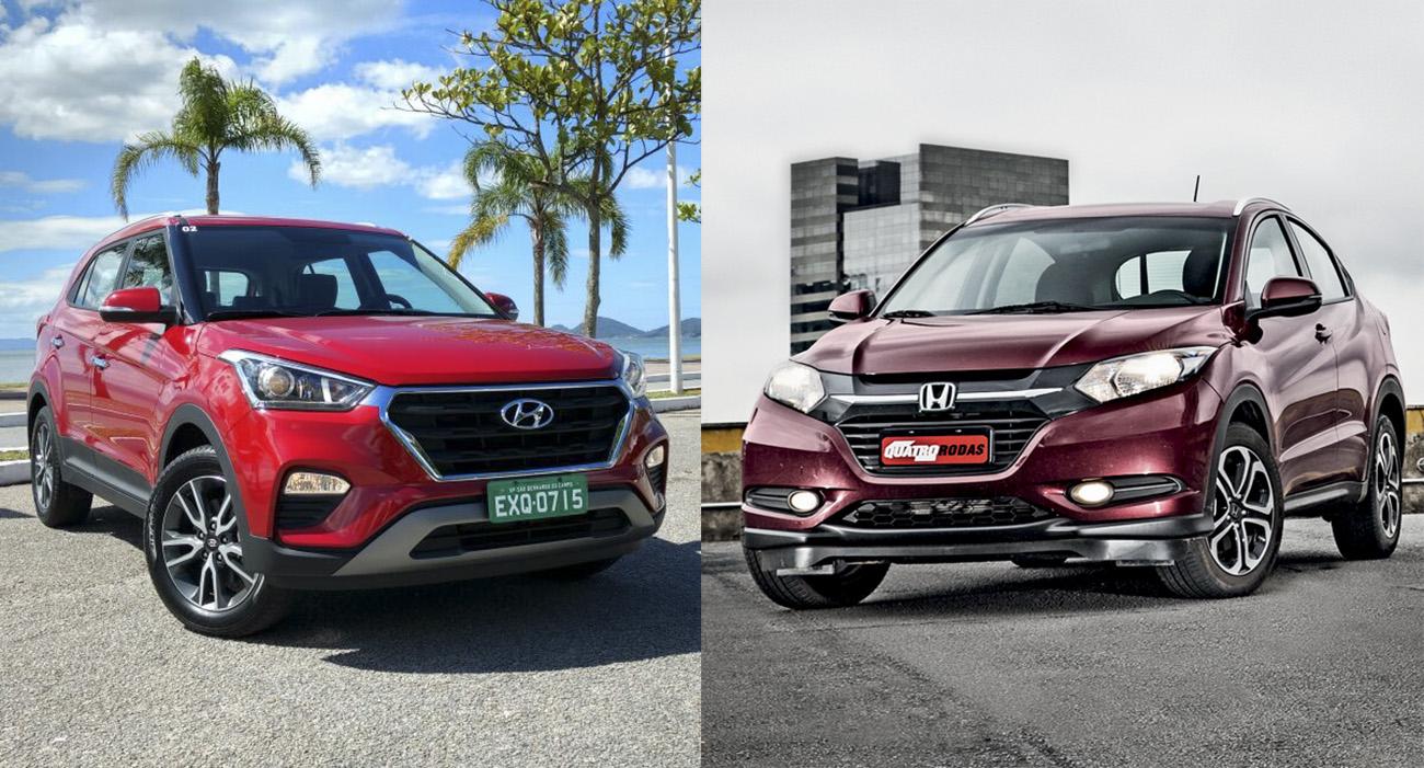 Hyundai Creta x Honda HR-V