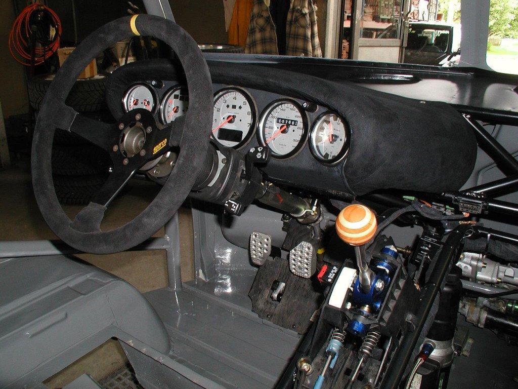 Interior do Kombi Race Taxi