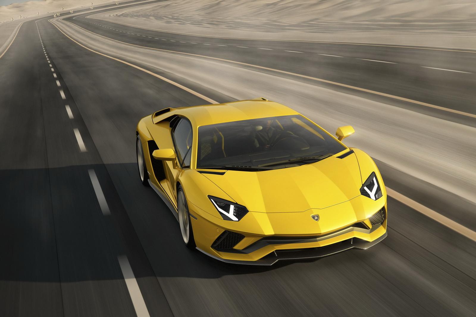 Lamborghini Aventador S de frente