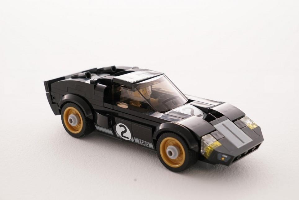 Miniatura de Lego do Ford GT40