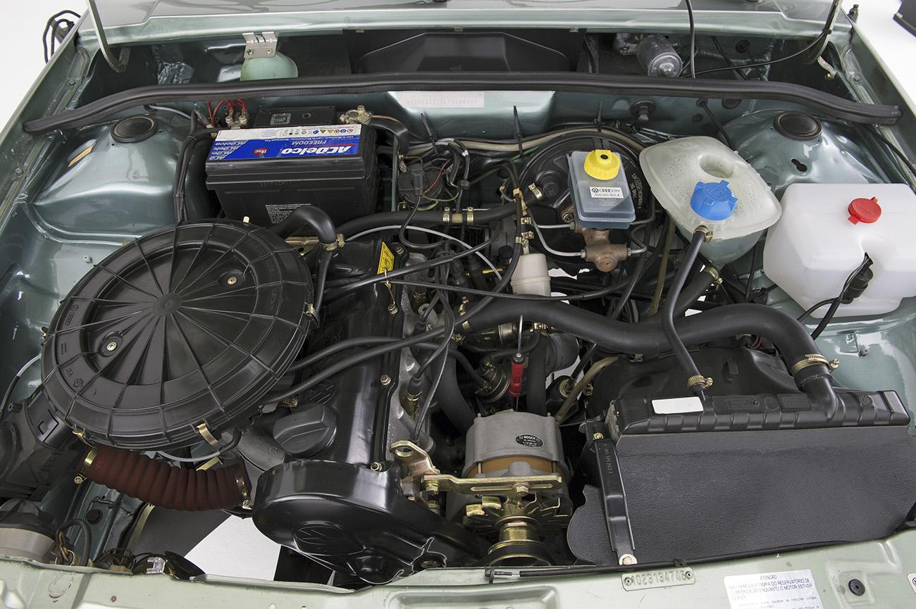 Motor AP 1800 do GTS tinha comando de válvulas do Golf GTi europeu