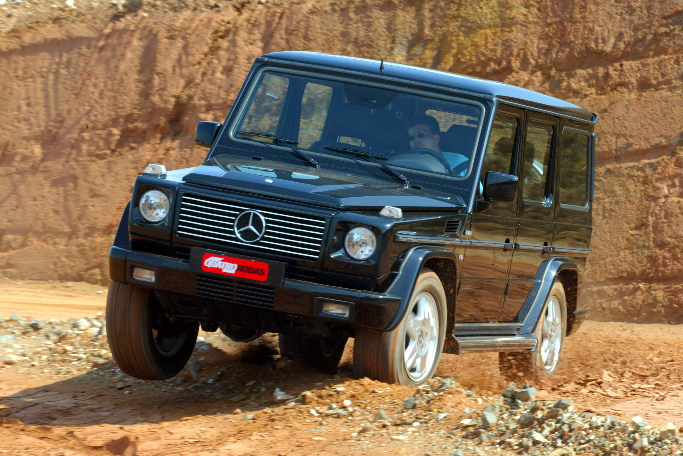Mercedes Classe G, jipe da Mercedes-Benz, modelo 2003.