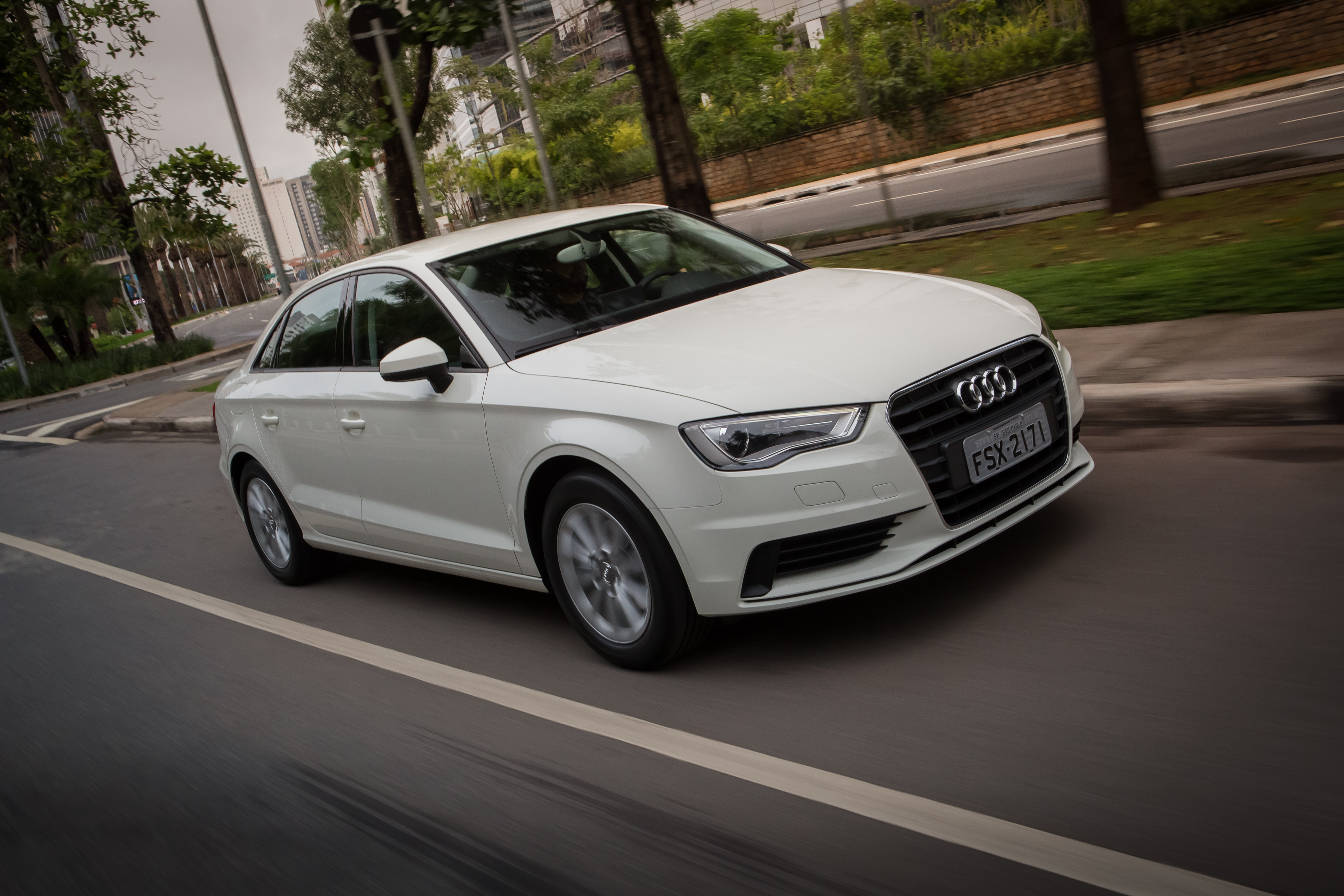 Desde 2015 a Audi fabrica o A3 Sedan no país