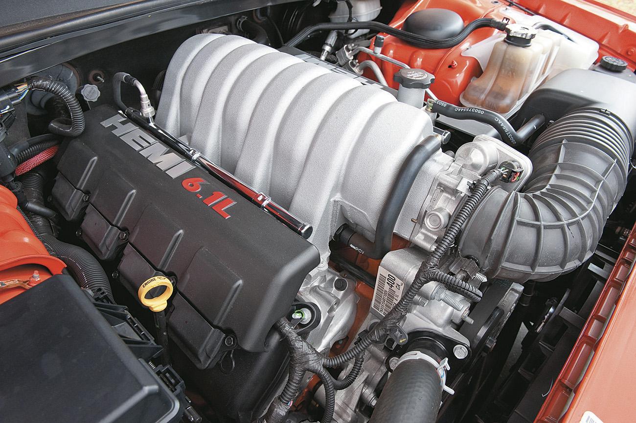 Motor do Dodge Challenger SRT V8