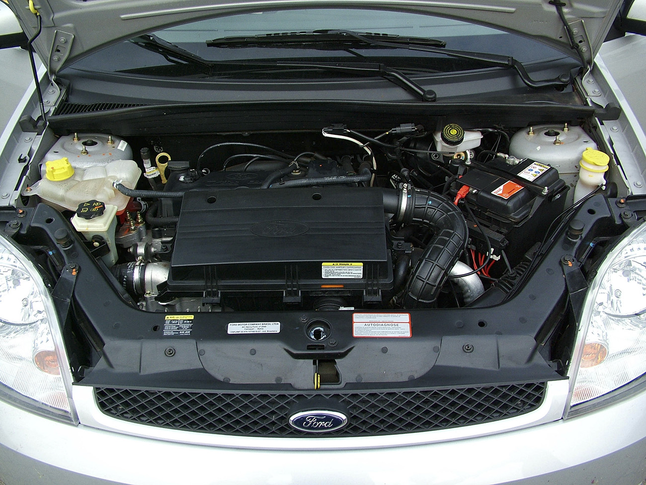 Motor do Ford Fiesta 1.0 Supercharger