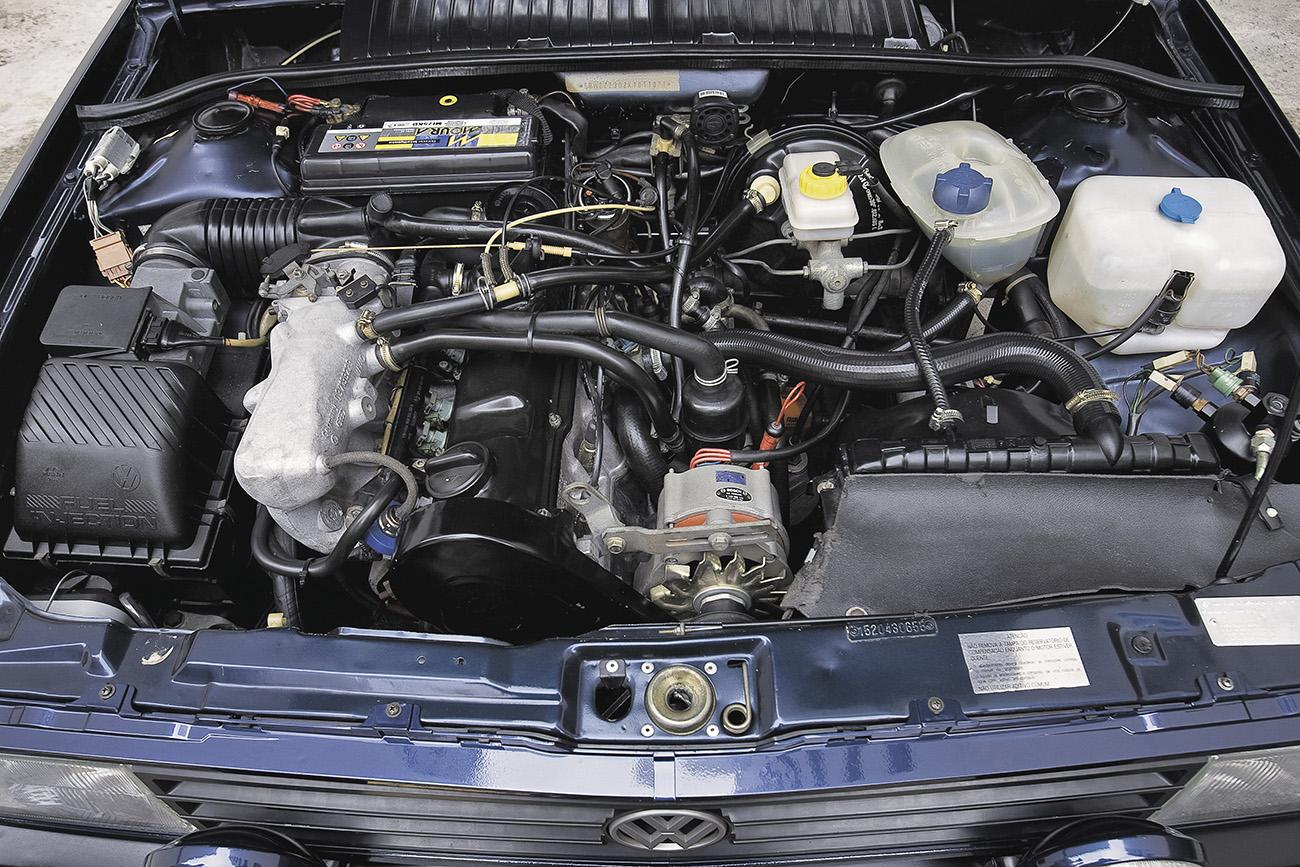 Com injeção eletrônica, motor 2.0 do GTi era mais suave e silencioso