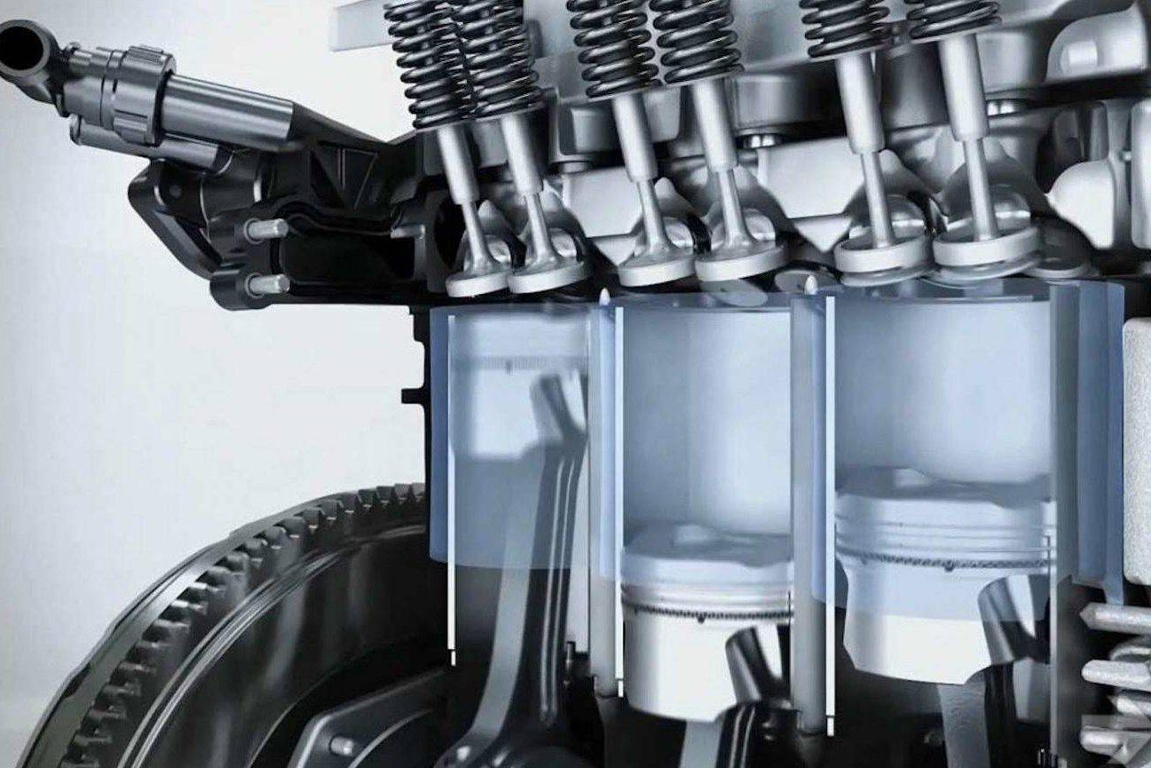 Motor três cilindros