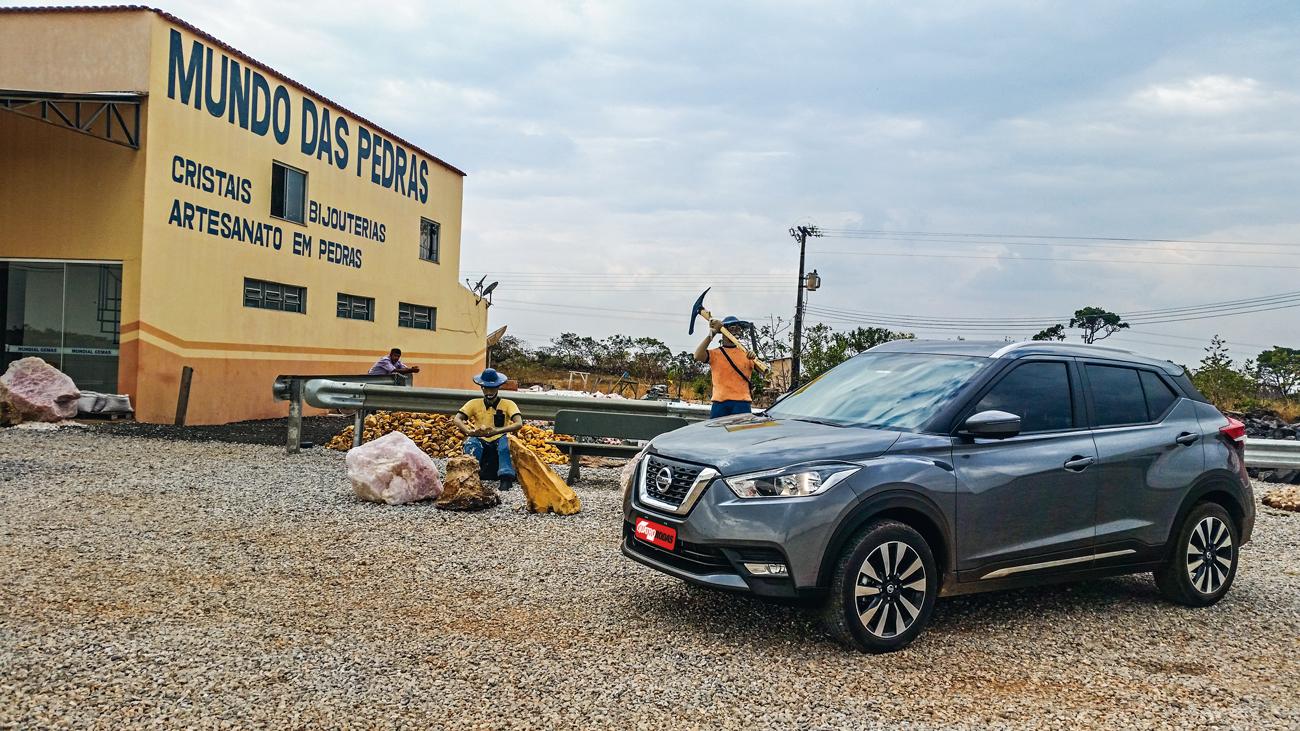 Nissan Kicks: pit-stop em Cristalina (GO)