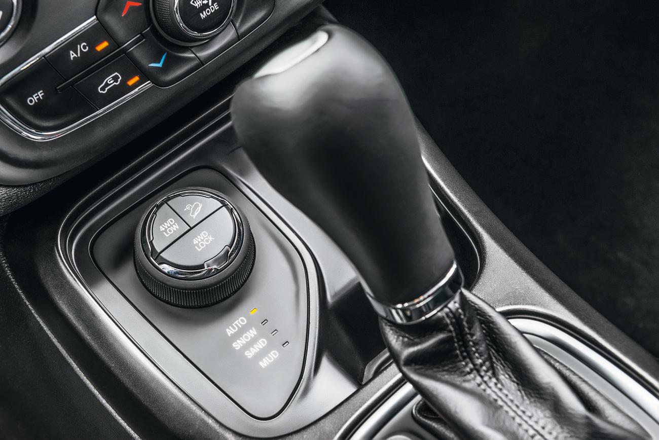 Tração 4x4 tem quatro modos de condução