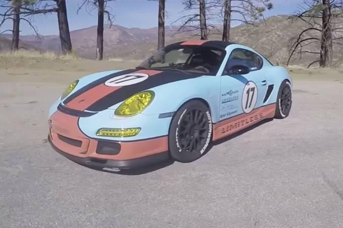 Porsche Cayman V8