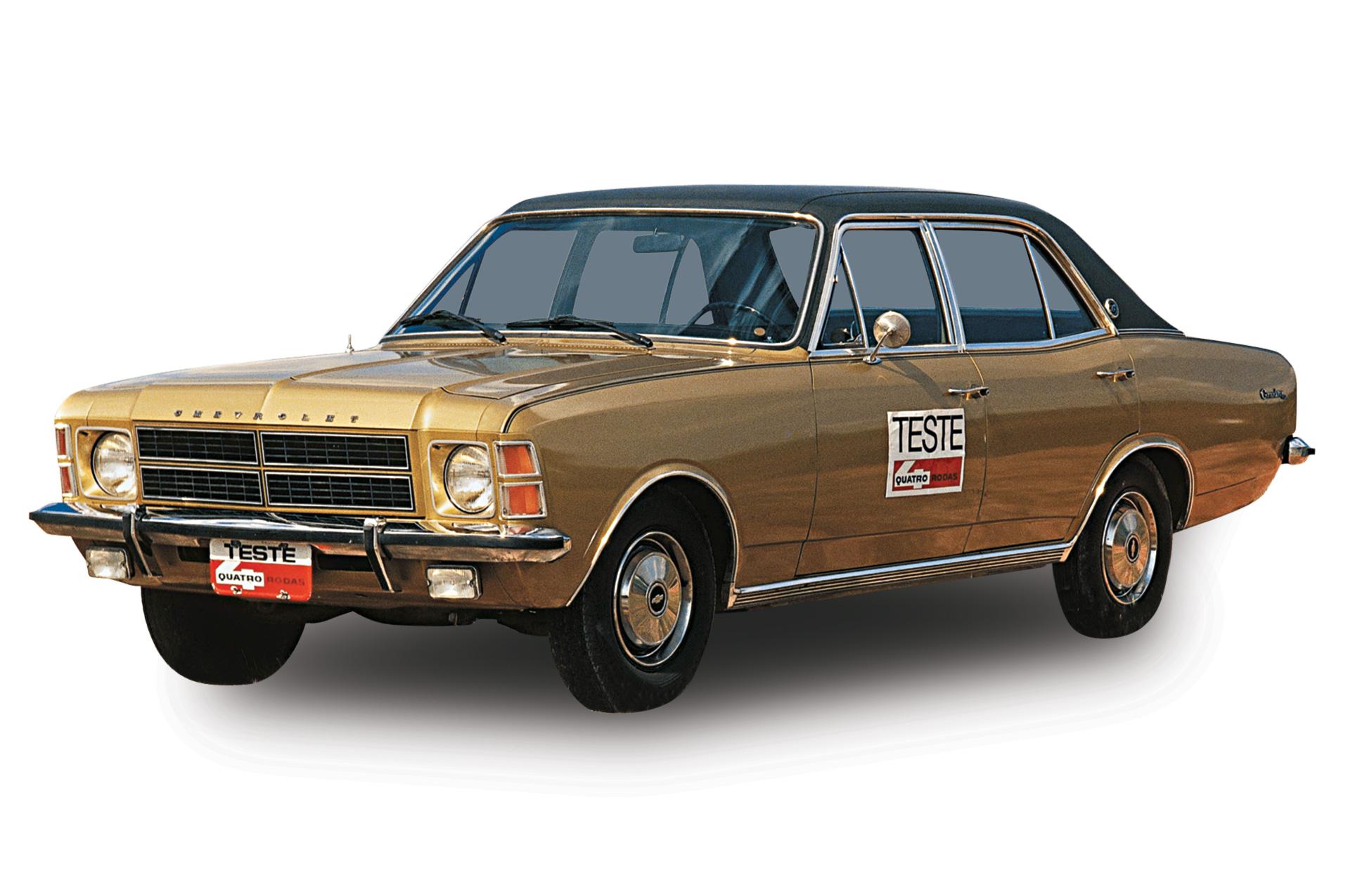 Teto de vinil do Chevrolet Opala