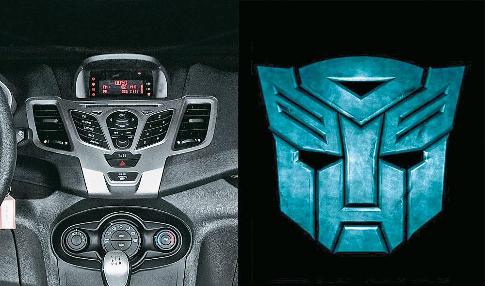 Ford Fiesta e Autobot