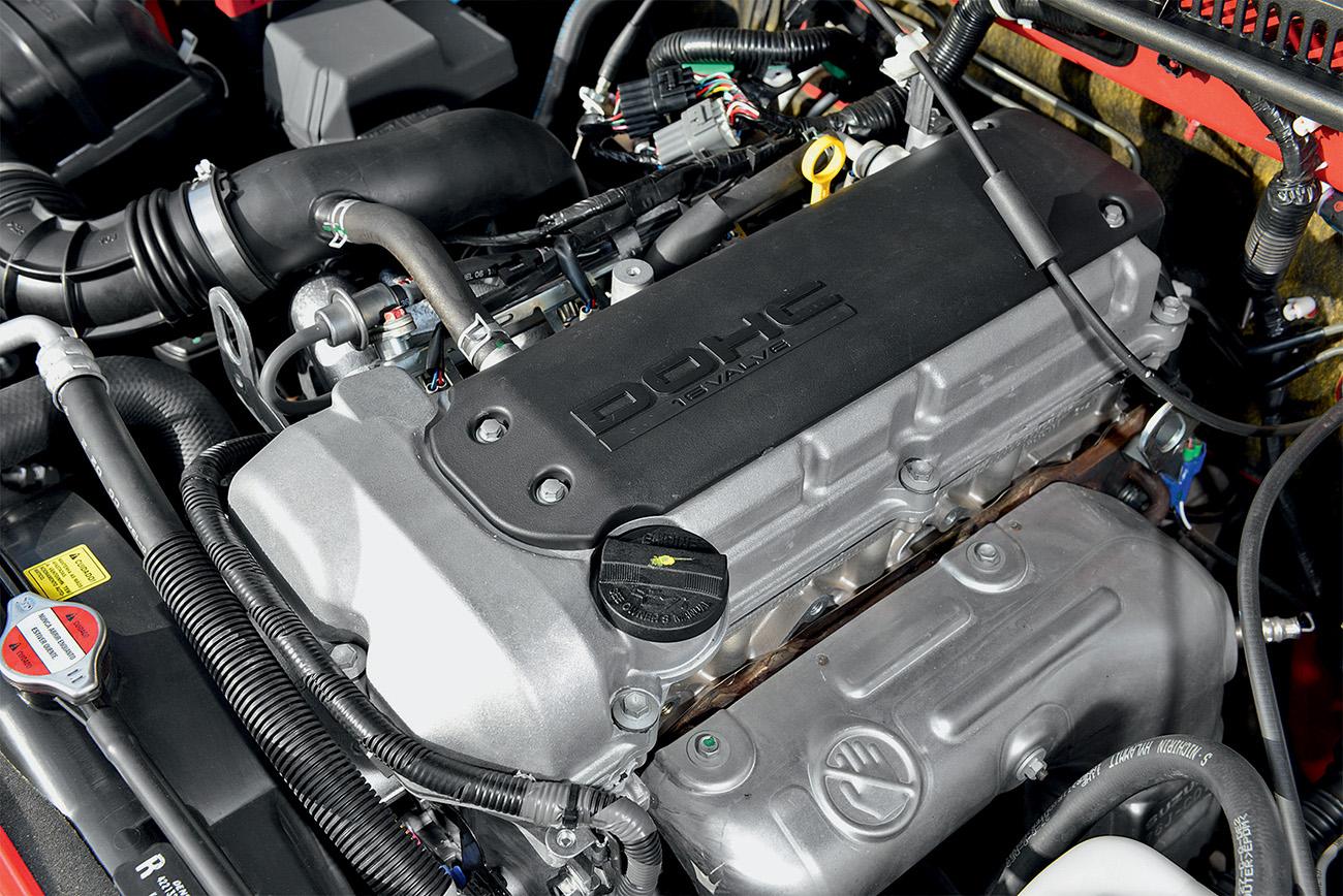 Motor 1.3 16V tem apenas 85 cv, mas não nega fogo