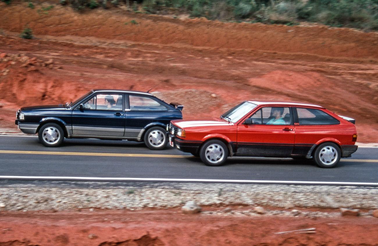 O GTi foi melhor em desempenho, mas seu motor sofria corte acima de 6.100 rpm