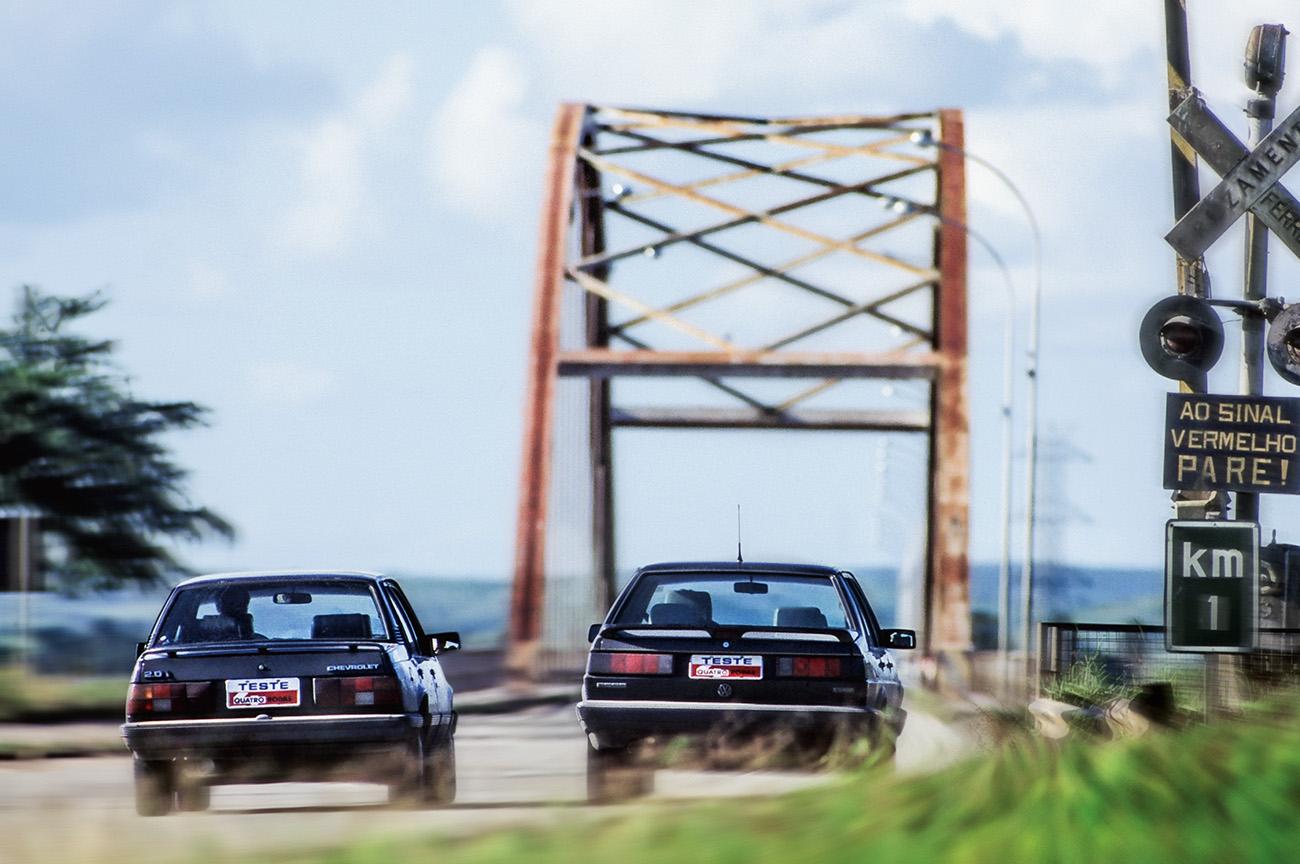 Um dos problemas surgidos na viagem foi a oscilação da marcha lenta nos dois modelos