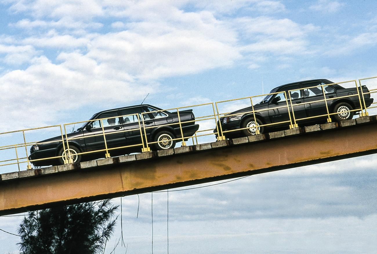 Eles eram os carros mais caros e luxuosos do país na época