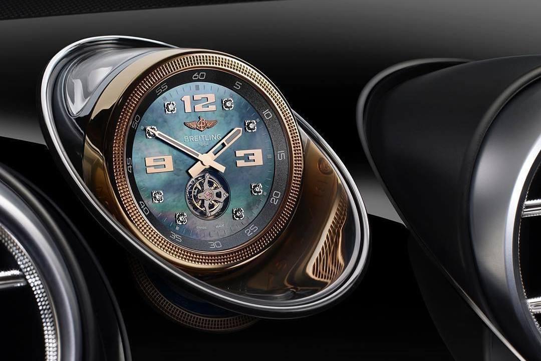 Relógio Breitling do Bentayga