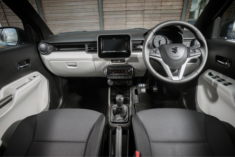 Interior do Suzuki Ignis