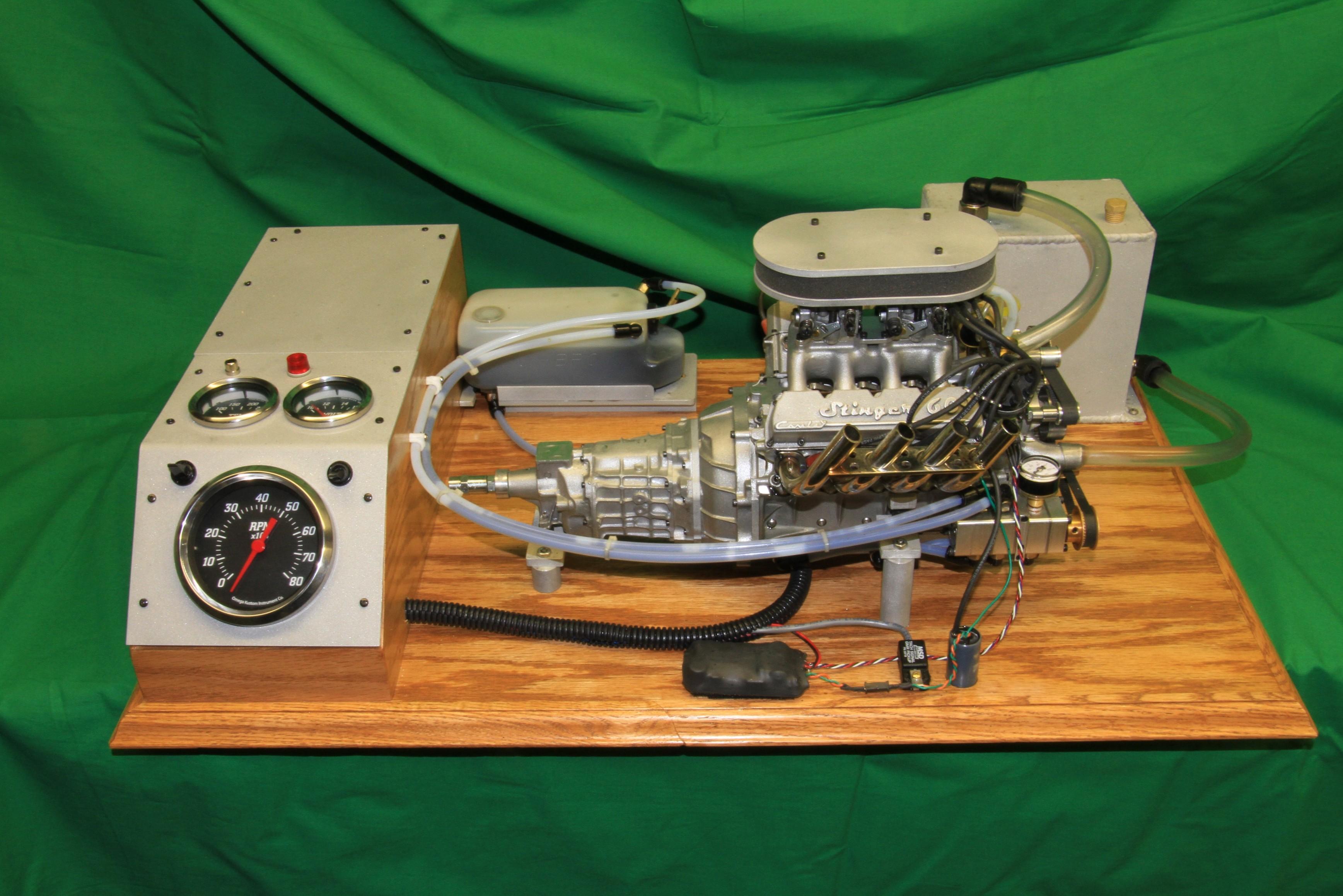 Motor pode girar a até 10.000 rpm