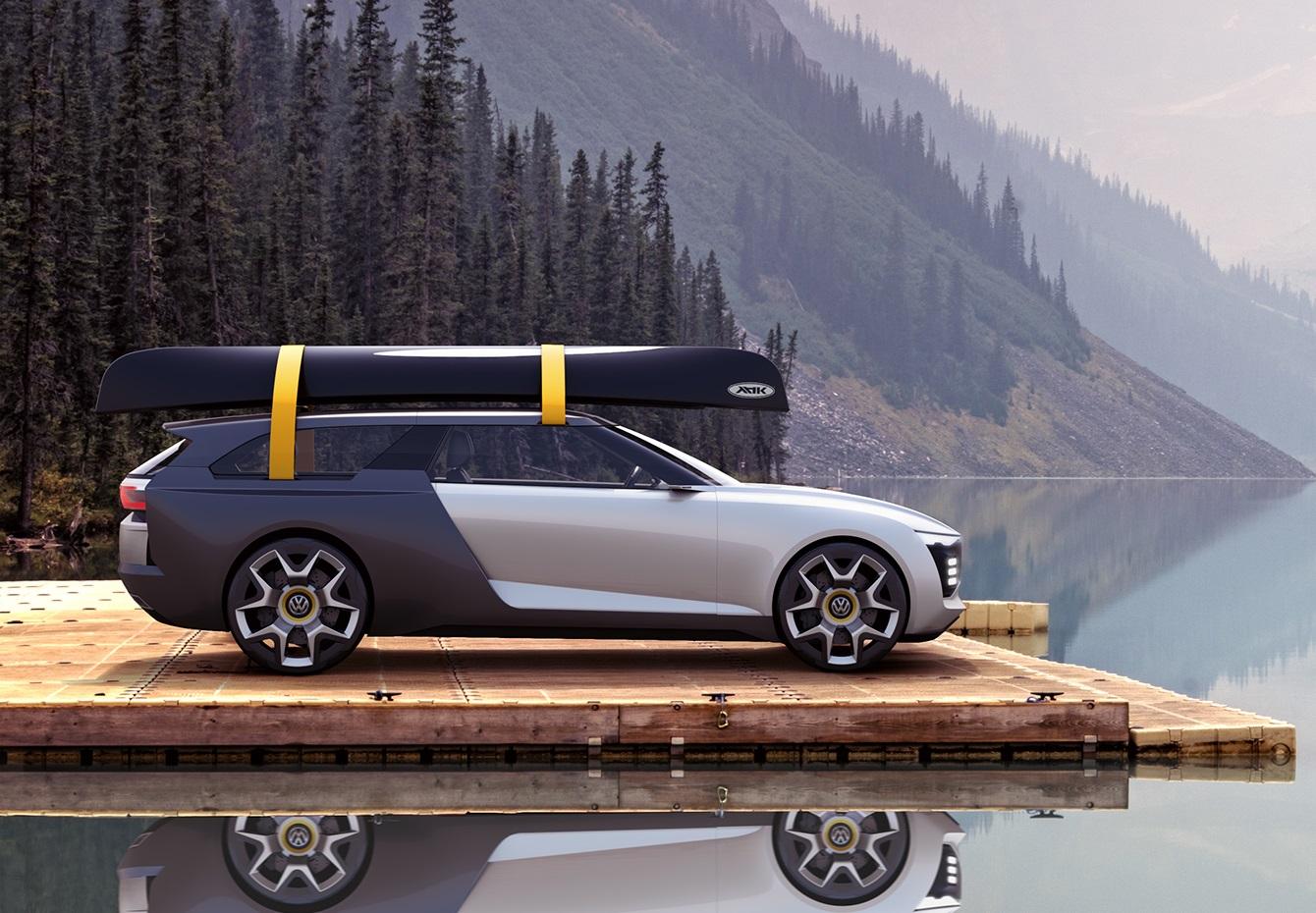 Volkswagen Varok de perfil