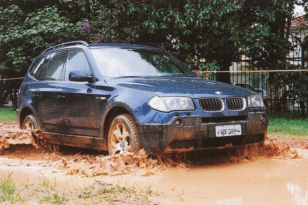 X3, utilitário esportivo da BMW.